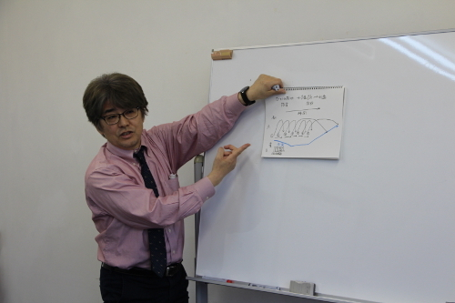 日本経済新聞西新専売所 河田所長