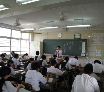 福岡 ホームページ作成 中学生への社会人講話