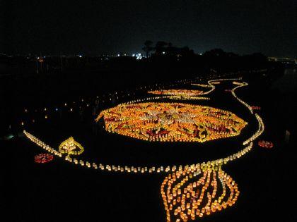 福岡市 ホームページ作成 室見川灯明まつり