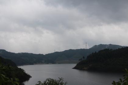 古湯温泉・扇屋さん道中(嘉瀬川ダム)