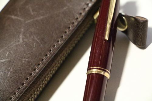 福岡 ホームページ作成の際にストーリーを書くとき モンブラン万年筆