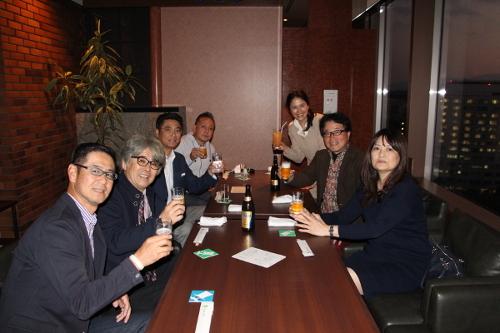 福岡の経営者の為の繁盛セミナー懇親会