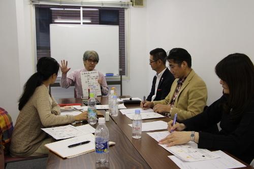 日本経済新聞 西新専売所 河田所長の体験発表