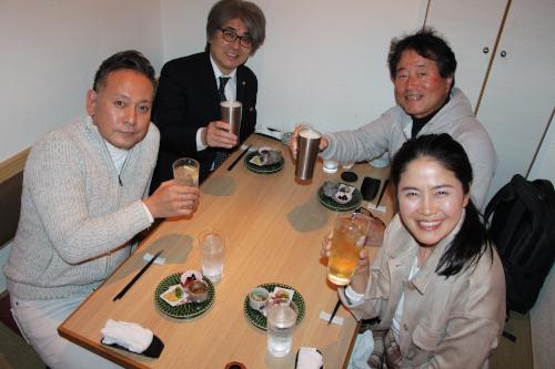 福岡のセミナー 社長・経営者の為の繁盛セミナー「第84回我楽多結クラブ」懇親会